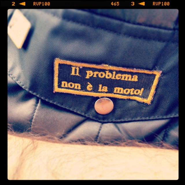 Oil13 Il Problema non é la Moto