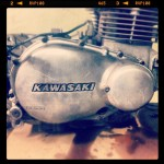 Oil13 Kawasaki Kz400 D4 Clasica Work Engine