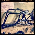 Oil13 Kawasaki Kz400 D4 Clasica Work in Progress Chasis Step1