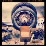 Oil13 Kawasaki Kz400 D4 Clasica Work in Progress Wheels