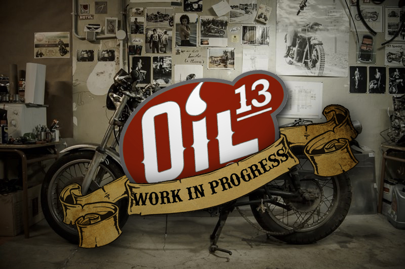 Oil13 Kawasaki Kz400 D4 Clasica Work in Progress