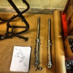 Oil13 Cafe & Racer kz400 Oil Forks 2