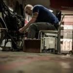 Oil13 - Vintage Garage Madrid Taller Work kz400 2