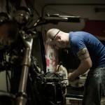 Oil13 - Vintage Garage Madrid Taller Work kz400 4