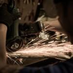 Oil13 - Vintage Garage Madrid Taller Work kz400 5