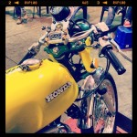 Oil13 & Honda4fun Honda CB350 Four GM13 Back Right Side
