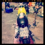 Oil13 & Honda4fun Honda CB350 Four GM13 Back Side