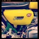 Oil13 & Honda4fun Honda CB350 Four GM13 Left Side Detail