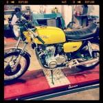 Oil13 & Honda4fun Honda CB350 Four GM13 Right Side Two