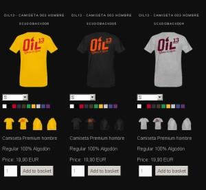 Oil13  TiendaOnline Camisetas Hombre