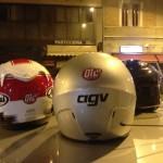 Oil13 - Vuelta por Milán - Helmets