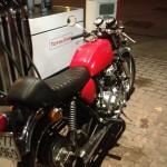 Oil13 - Vuelta por Milán - Honda CB400 Four