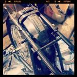 Oil13 Cafe & Racer - Kawasaki KZ 400 Chassis Detail