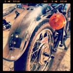 Oil13 Cafe & Racer - Kawasaki KZ 400 Back Size Detail 2