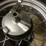 Oil13 - Yamaha Tw 125 Brake Detail 1