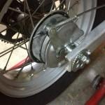 Oil13 - Yamaha Tw 125 Brake Detail 2