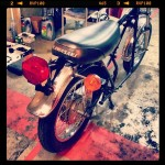 Oil 13 - Kawasaki Kz400 Right Side Tail