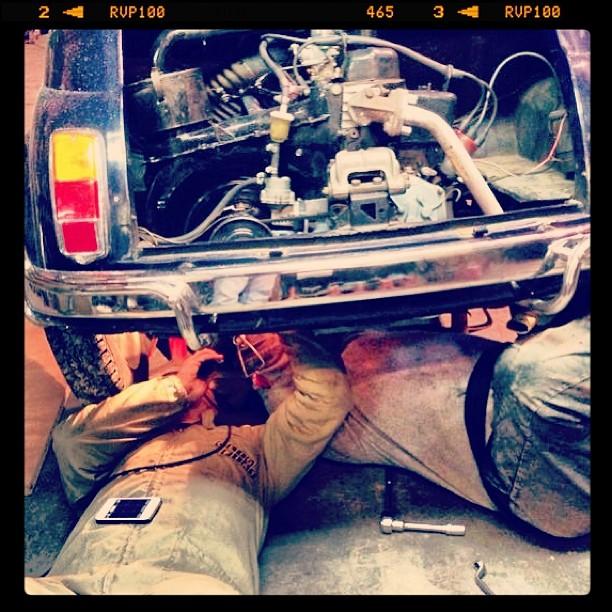 Oil13 - Fiat 500 L Montando el Cambio