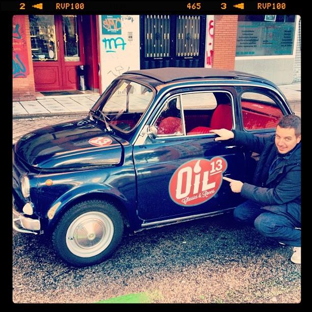 Oil13 - Fiat 500 L left side