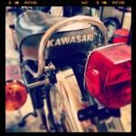 Oil13 - Kawasaki Kz400 D4 - Seat Detail