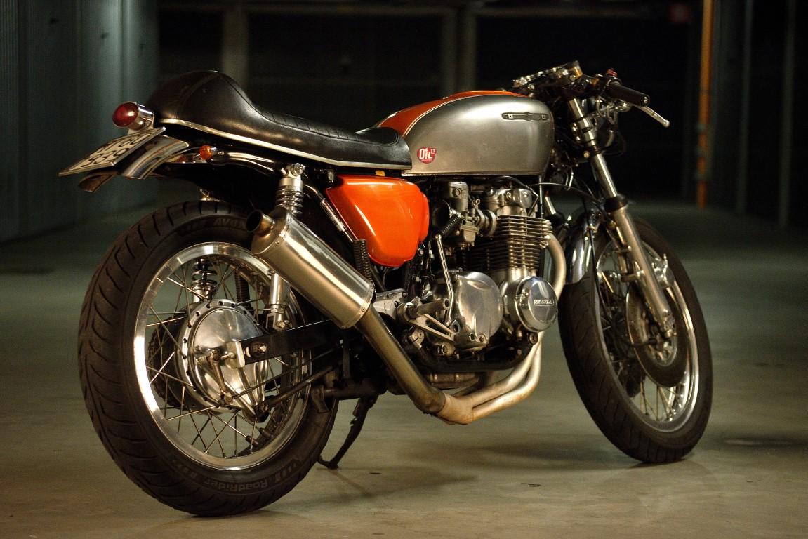 Oil13 - Honda CB500 Four K3  1979 DD Right Side