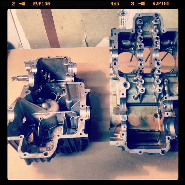 Oil13 – Kawasaki kz400 Abriendo el Motor 19
