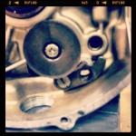 Oil13 – Kawasaki kz400 Abriendo el Motor 20
