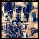 Oil13 – Kawasaki kz400 Abriendo el Motor 6