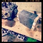 Oil13 – Kawasaki kz400 Abriendo el Motor A