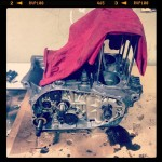 Oil13 - Kawasaki kz400 Desmontando el Motor 3