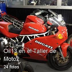 Oil13 - Album en el Taller de Moto2
