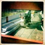 Oil13 Restaurando el Poderoso Jawa350 Con Sidecar en Nápoles_11