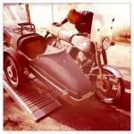 Oil13 Restaurando el Poderoso Jawa350 Con Sidecar en Nápoles_12