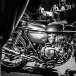 Oil13 And H4F Napoli - Honda CB 350 Four One of Us