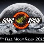 Oil13 - 7º Full Moon Ride SohcSpain locandina