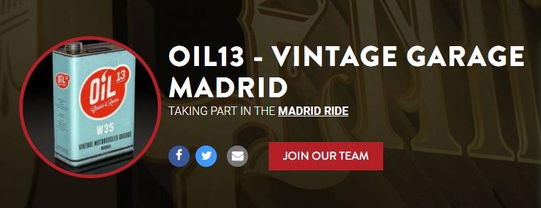 DGR2018 - Oil13 - Vintage Garage Madrid Team